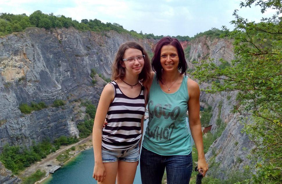 Lenka s dcerou